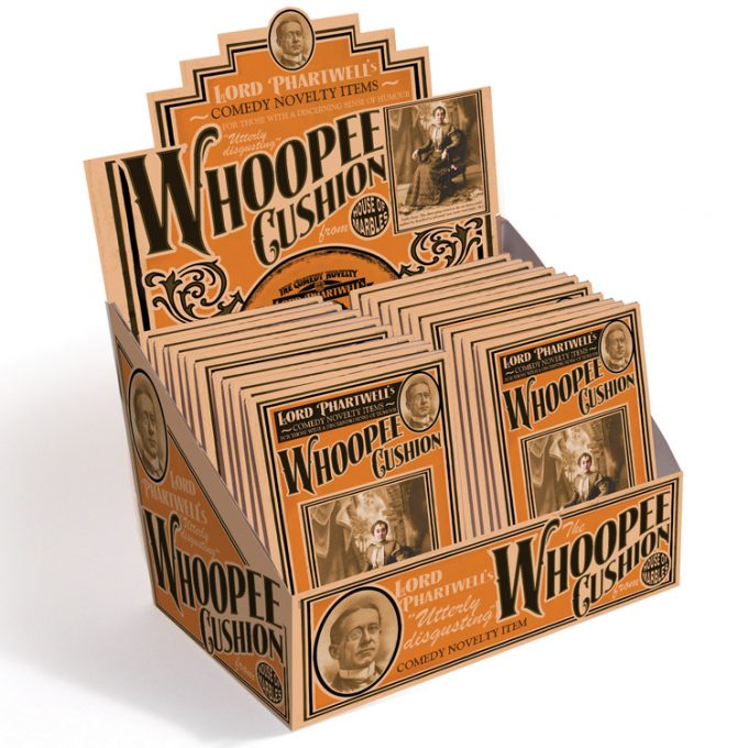 Whoopee Cushion Counter Display (24 pcs)