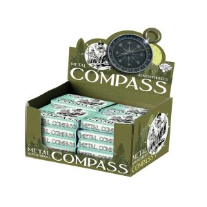 Metal Compass Counter Display (24 pcs)
