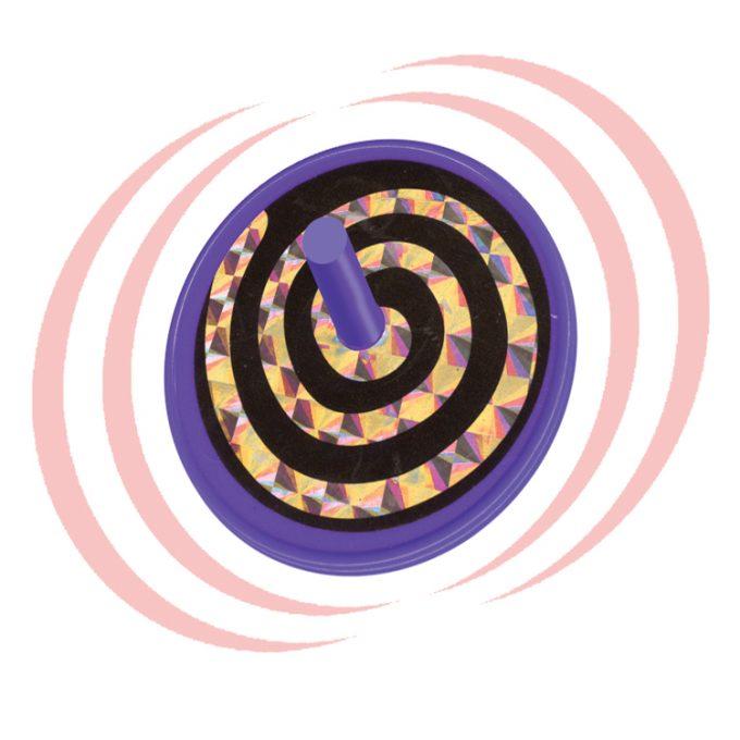 Faszinierende Kreisel Kuntstoff (150 Stück)