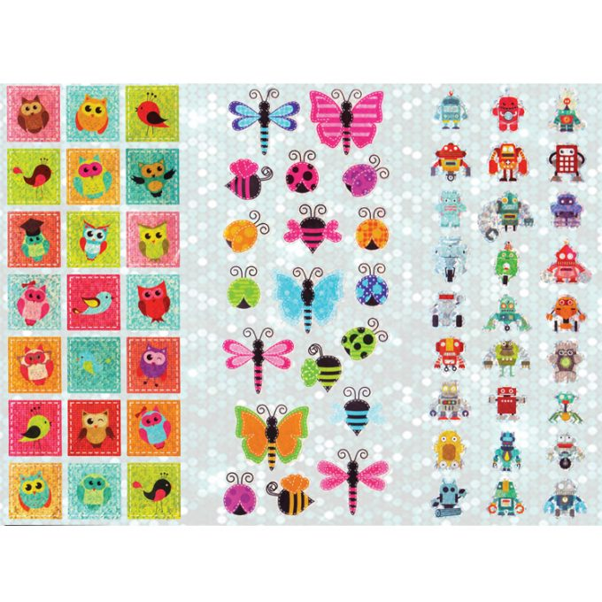 Super Sticker (60 Stück)