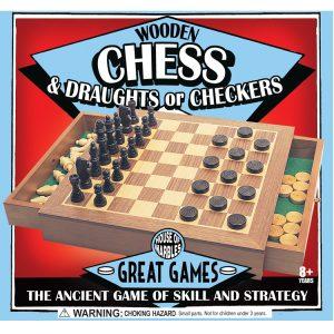 Kombination Schach und Dame