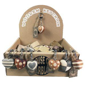 Schlüsselanhänger Herzen (36 Stück)