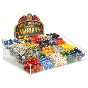 20 Pocket Display Unit FREE with #250 Assorted Marbles