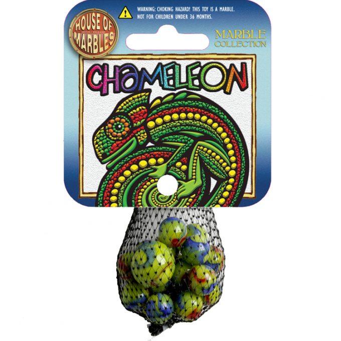 Chameleon Netze mit Murmeln (10 Stück)