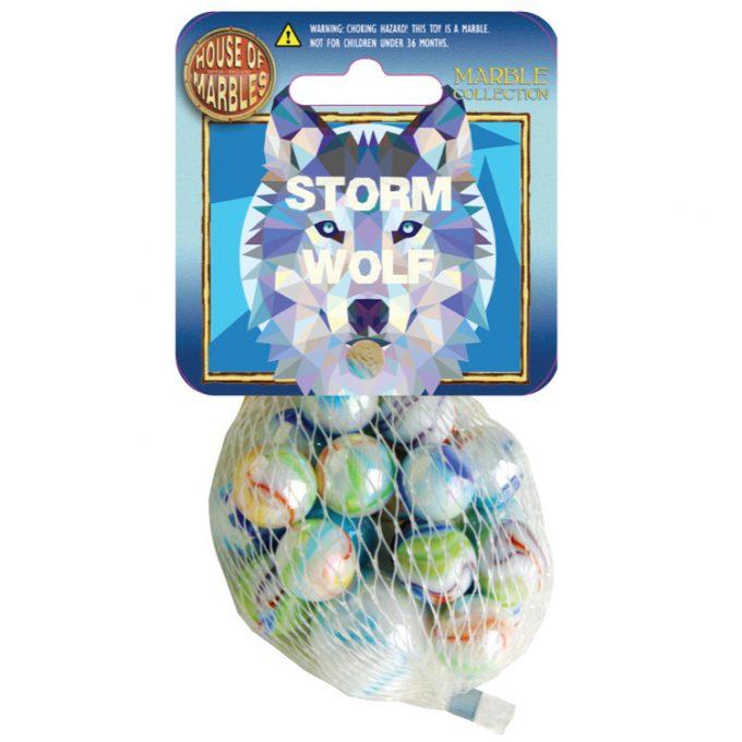 Storm Wolf Netze mit Murmeln (10 Stück)