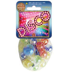 Disco Netze mit Murmeln (10 Stück)