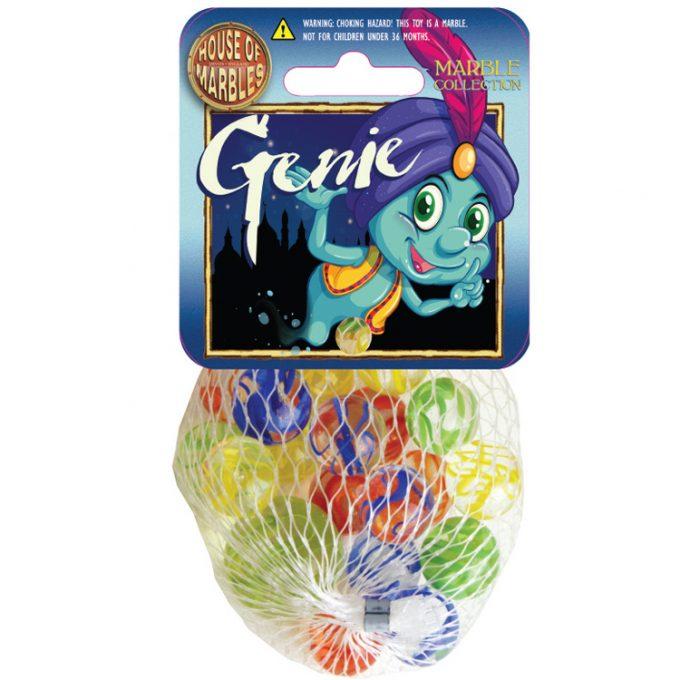 Genie Netze mit Murmeln (10 Stück)