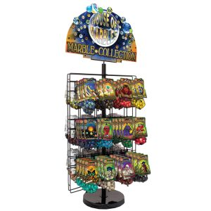 24 Hook Display Stand - FREE With 24 Designs!